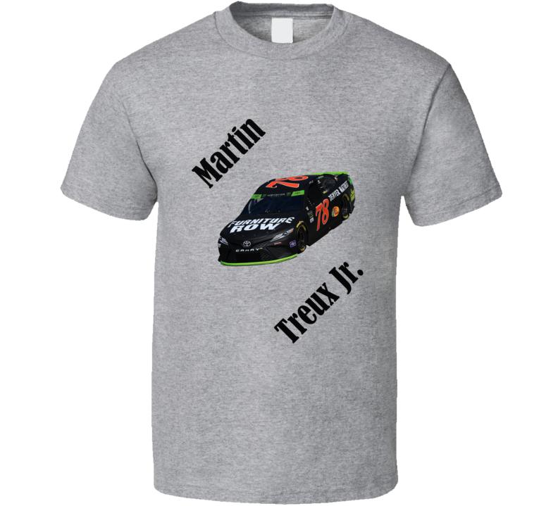 Martin Treux Jr Nascar Fan Tshirt
