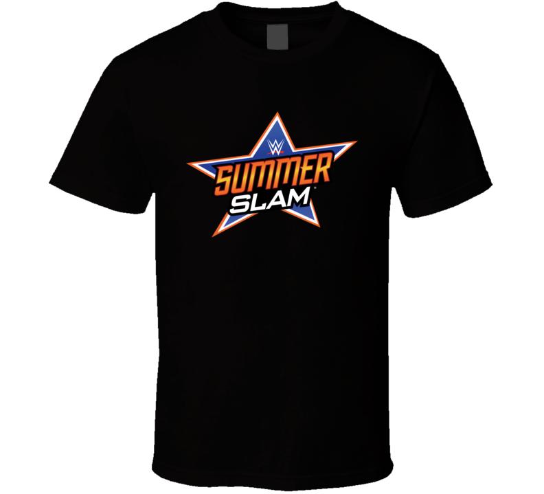 Summer Slam Wwe Logo Wrestling Fan T Shirt