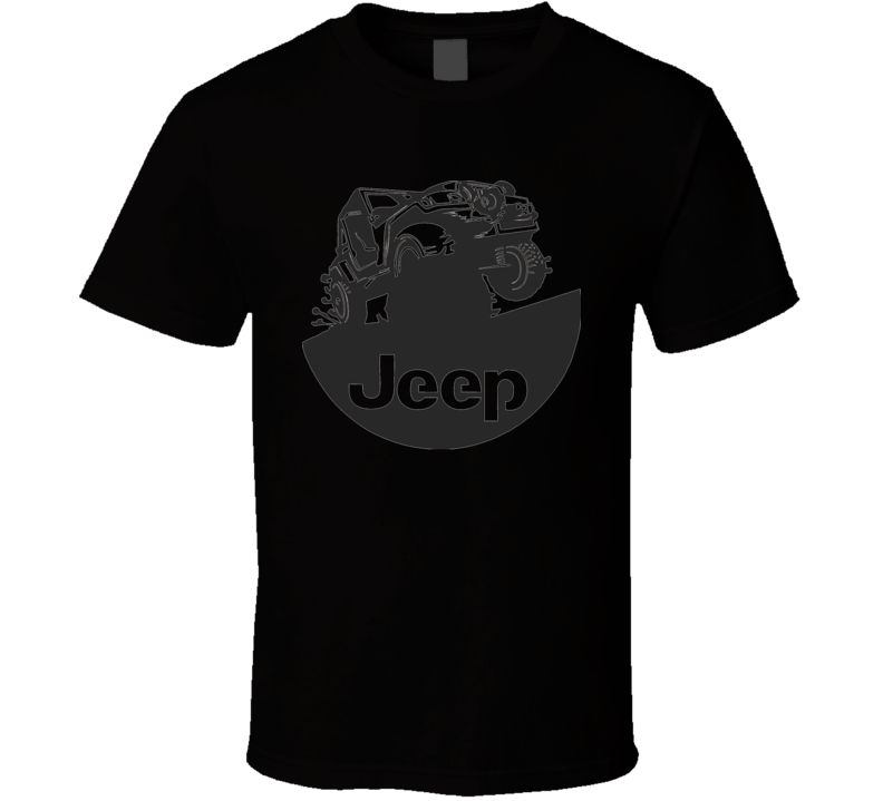 Jeep Wranger American Cars Fan Graphic T Shirt
