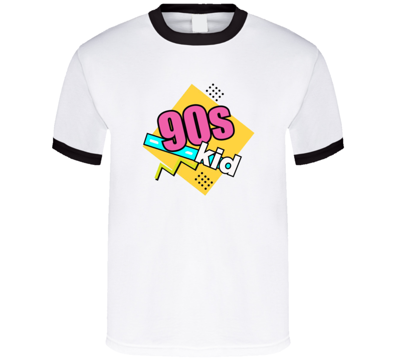 90s Kid Funny Adult Graphic T Shirt