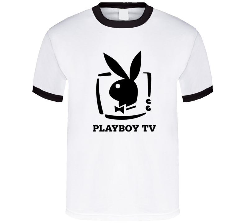 Playboy Tv Funny Adult Humour Graphic T Shirt