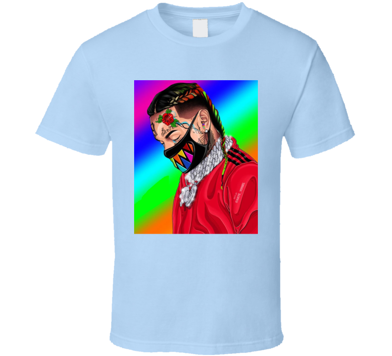 6ix9ine Rapper Art Celebrity Music Graphic T Shirt