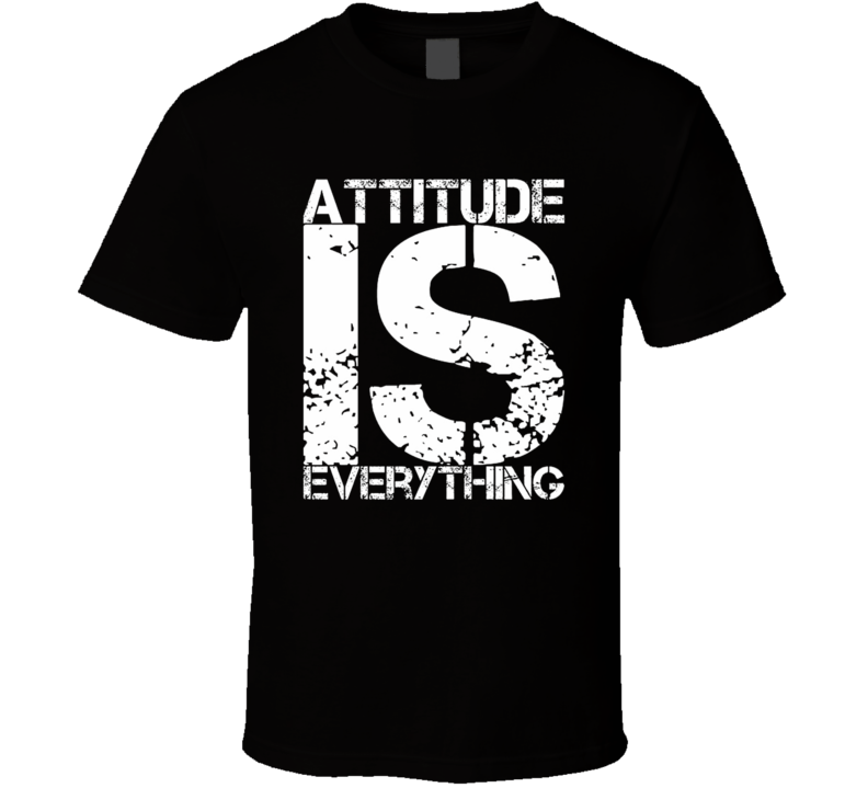 Attitude Is Everything Funny Adult Humor Fan T Shirt