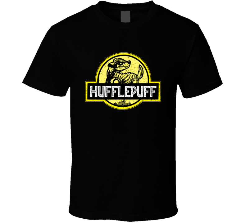 Hufflepuff Harry Potter Funny Wizard Witch Movie Fan T Shirt