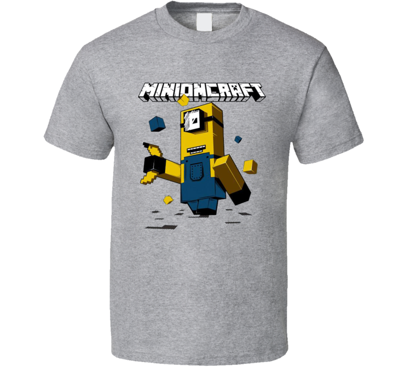 Minioncraft Funny Despicable Me Minions T Shirt