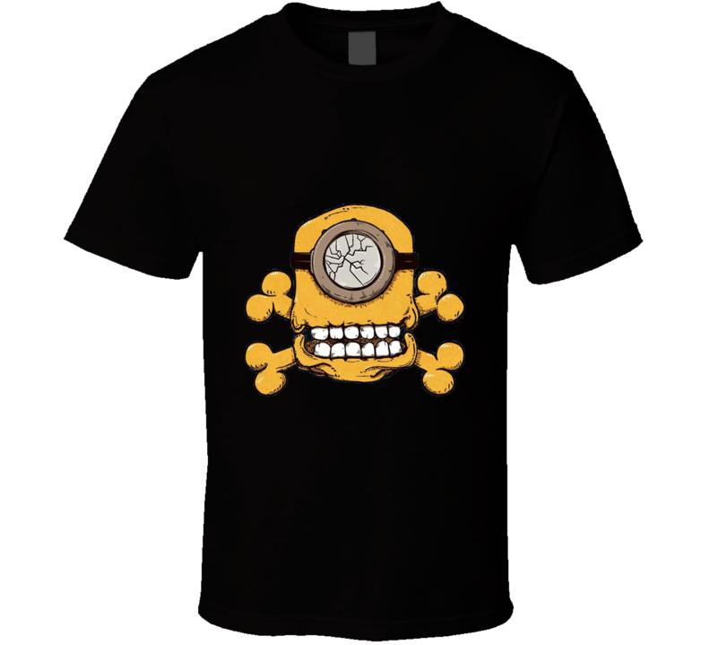 Skull Minion Despicable Me Funny Graphic Fan T Shirt