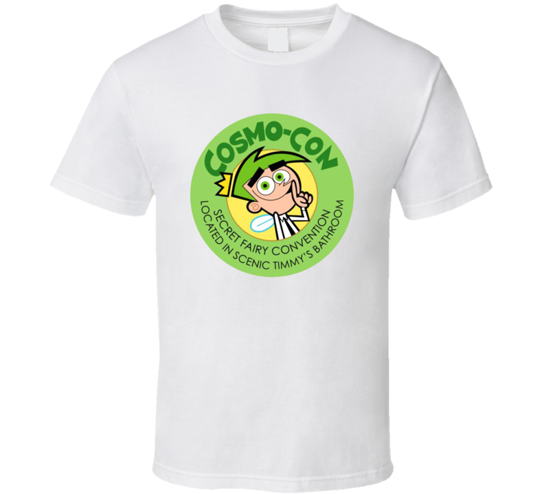 Cosmo Con Fairly Oddparents Funny Cartoon Ytv Fan T Shirt