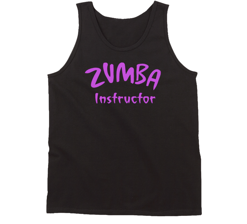 Zumba Instructor Cool Fitness Workout Tanktop