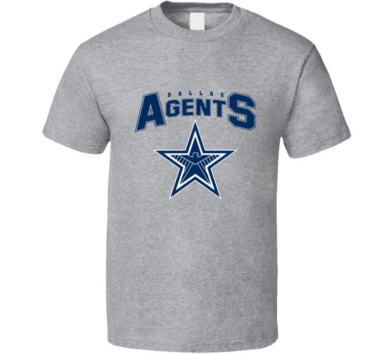 Dallas Agents Funny Cowboys Agents Of Shield Merchandise Nfl Parody Football Funny Parody T Shirt