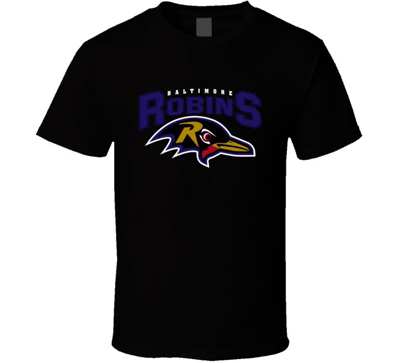 Blatimore Robins Funny Ravens Merchandise Nfl Parody Football Funny T Shirt