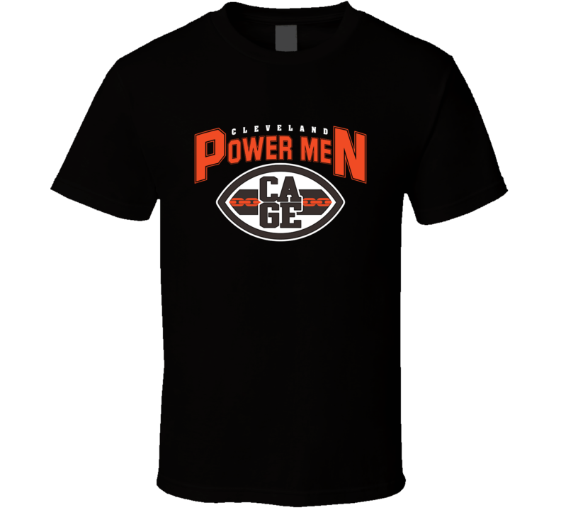 Cleveland Power Men Funny Browns Merchandise Nfl Parody Football Funny T Shirt