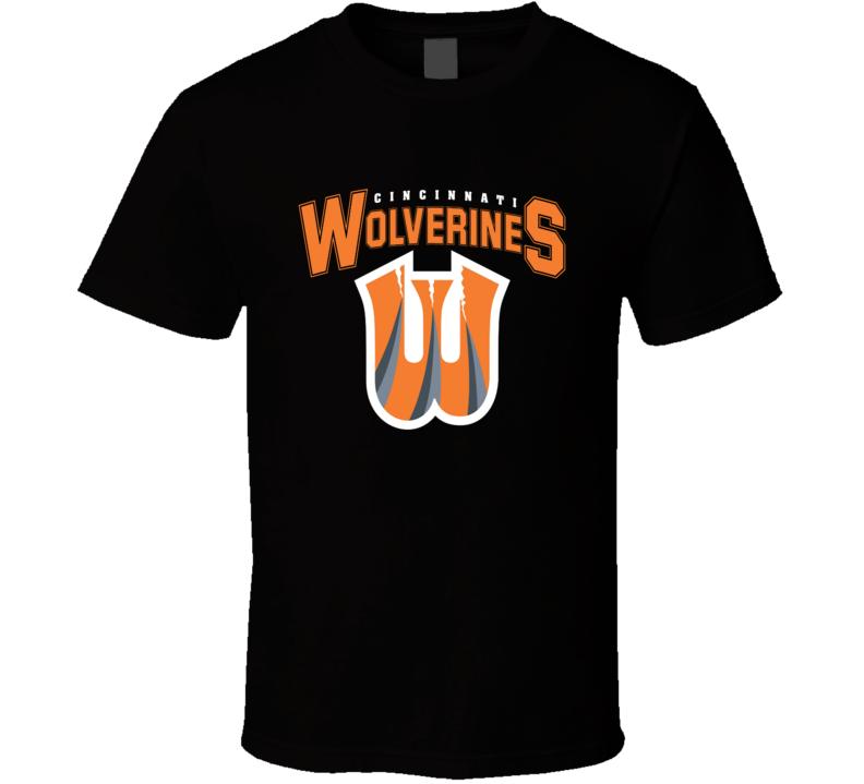 Cincinnati Wolverines Funny Bengals Merchandise Nfl Parody Football Funny T Shirt
