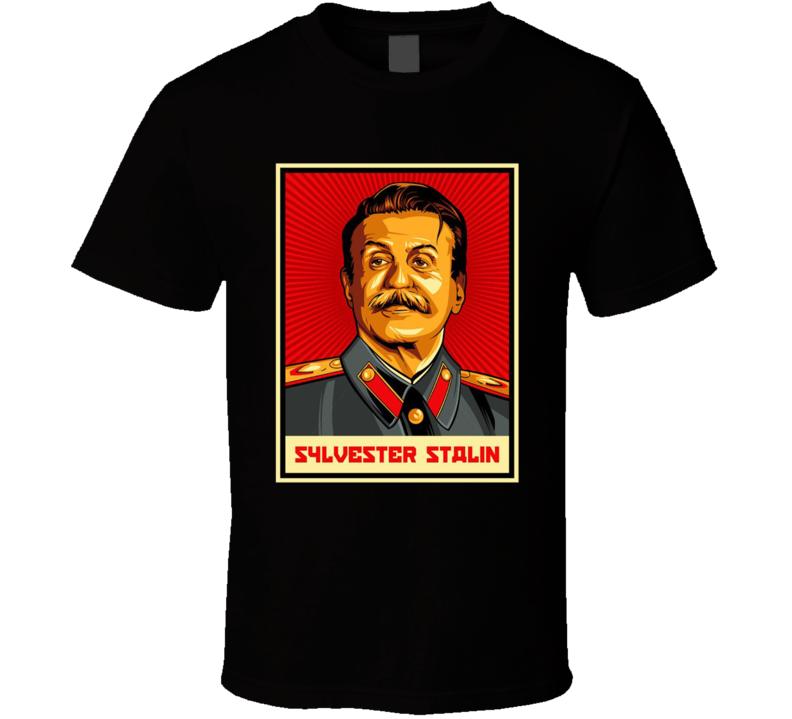 Sylvestor Stalin Funny Sylvestor Stallone Funny Graphic T Shirt