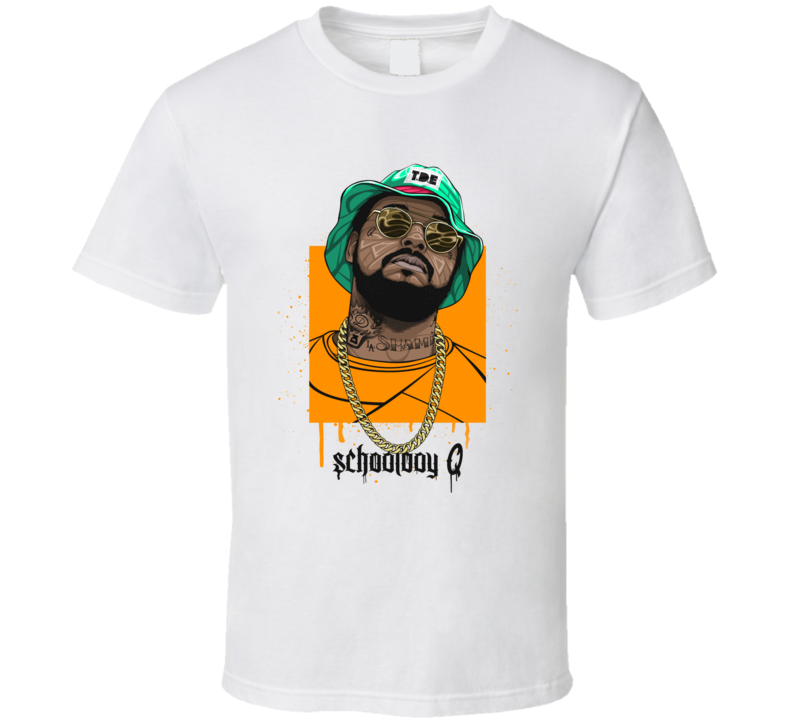 Schoolboy Q Hip Hop Rap Music T shirt