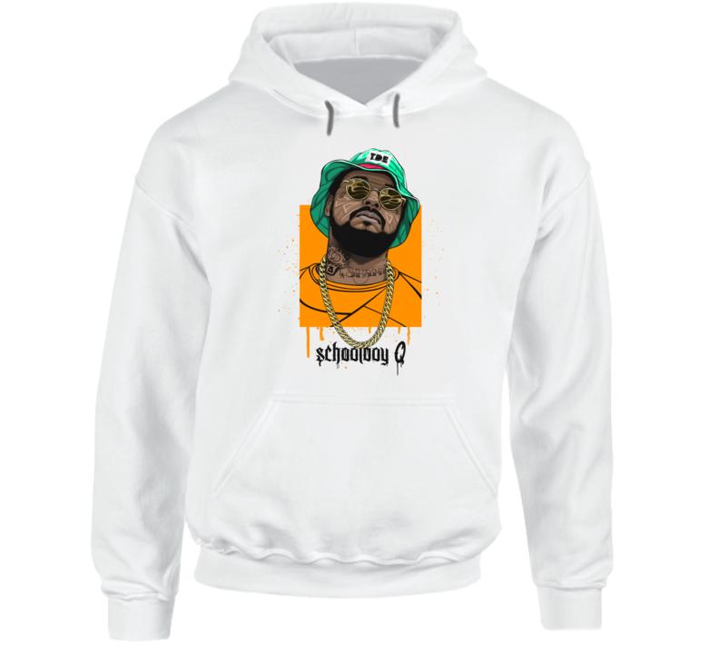 Schoolboy Q Hip Hop Rap Music Hooded Pullover