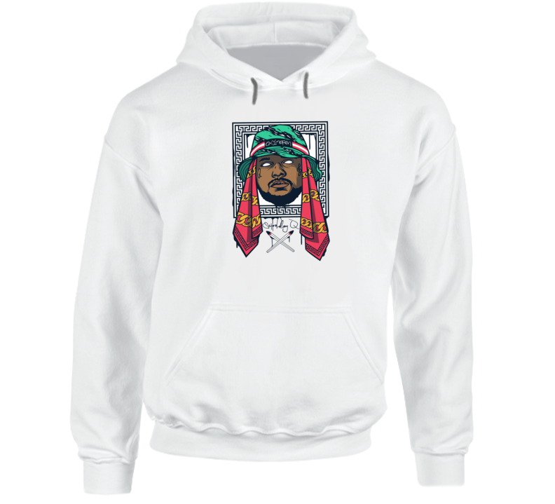 Schoolboy Q Oxymoron Hip Hop Rap Music Hooded Pullover