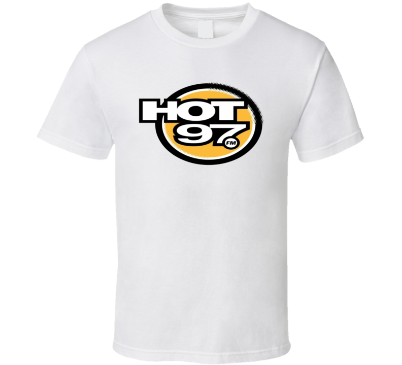 Hot 97 New York Hip Hop Rap Radio Station Music T shirt
