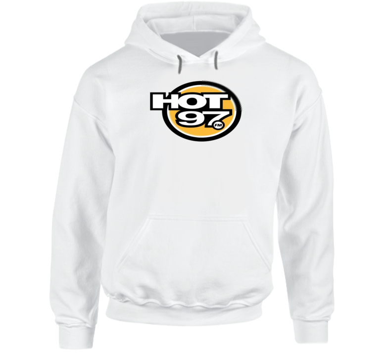 Hot 97 New York Hip Hop Rap Station Music Hooded Pullover