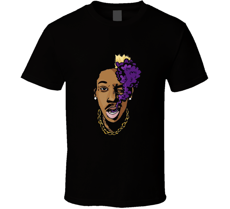 Wiz Khalifa Puff Puff Smoke Hip Hop Rap Music T shirt