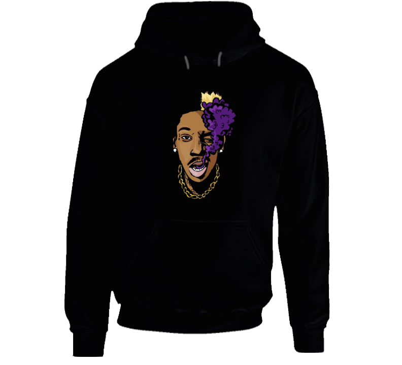 Wiz Khalifa Puff Puff Smoke Hip Hop Rap Music Hooded Pullover
