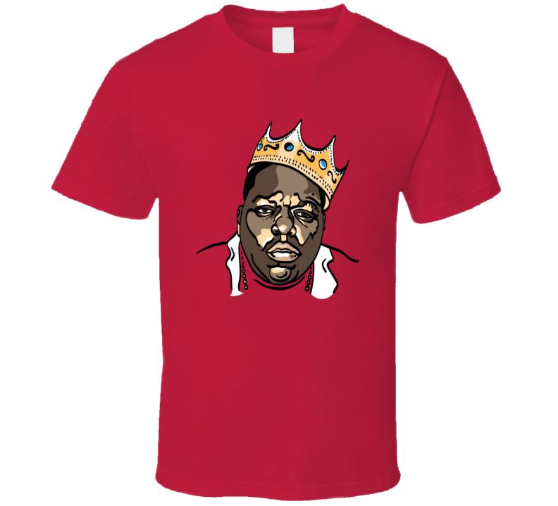 Biggie Smalls King of New York Hip Hop Rap Music T shirt