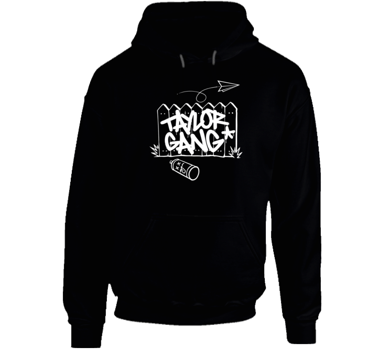Wiz Khalifa Taylor Gang Hip Hop Rap Music Hooded Pullover