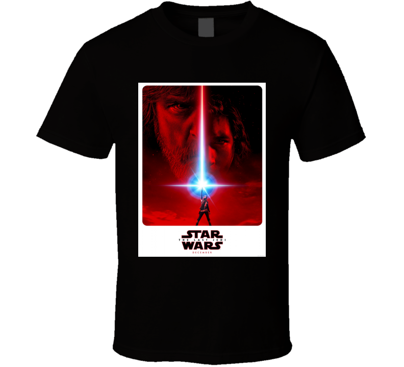 The Last Jedi Cult Classic Sci Fi Movie T shirt