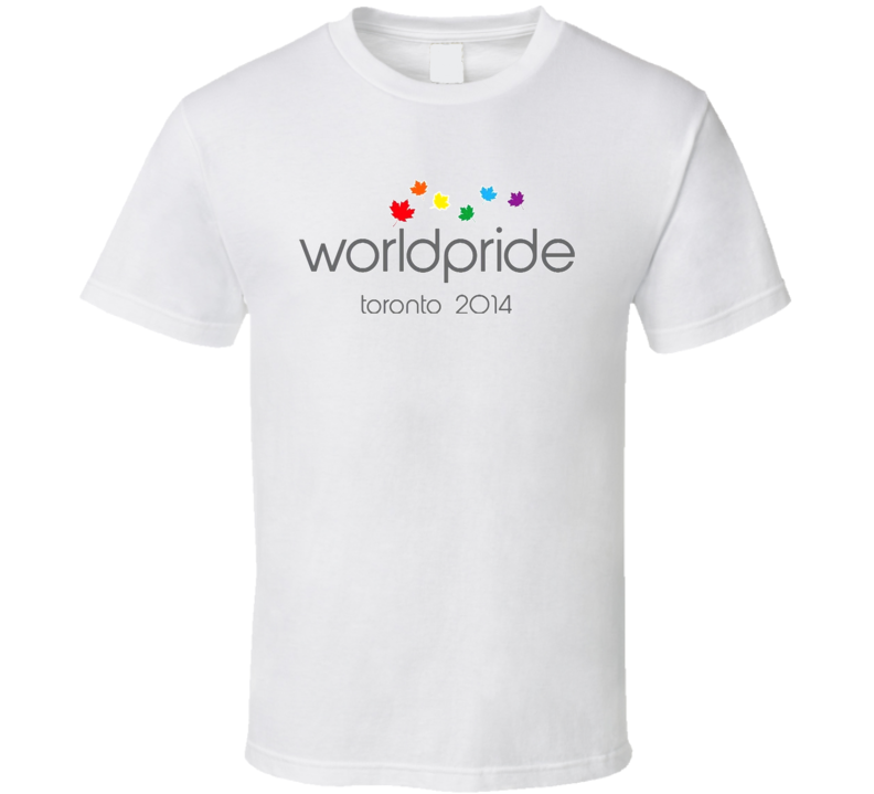 World Pride Toronto 2014 T Shirt