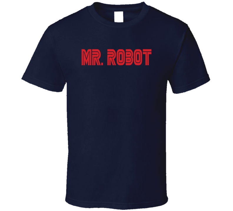 Mr. Robot Computer Programmer Hacker TV Show T Shirt