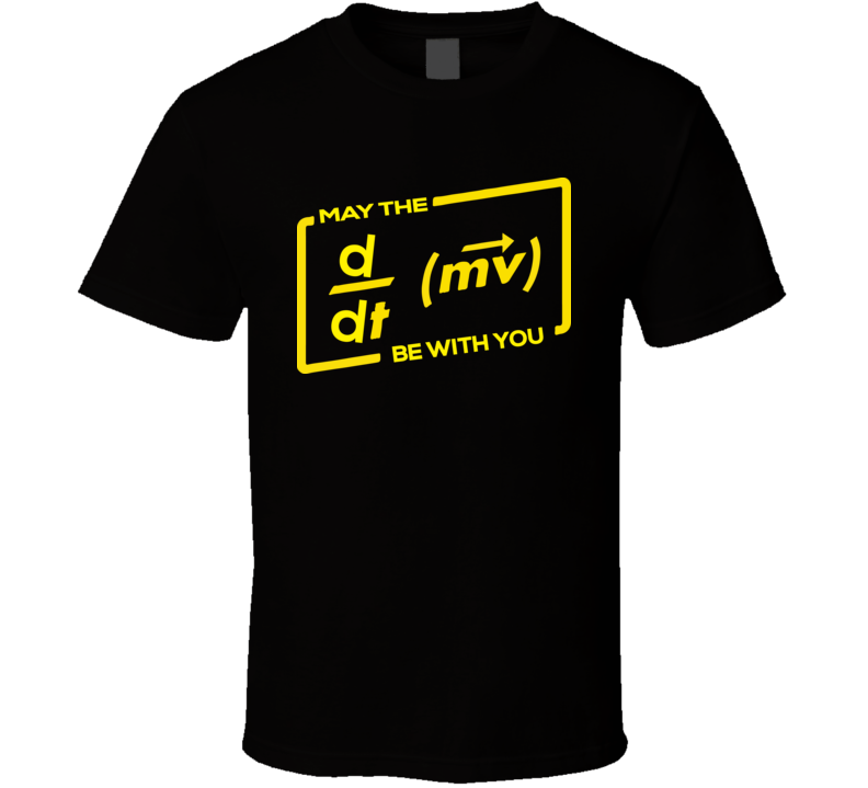 May The Science Be With You T Shirt