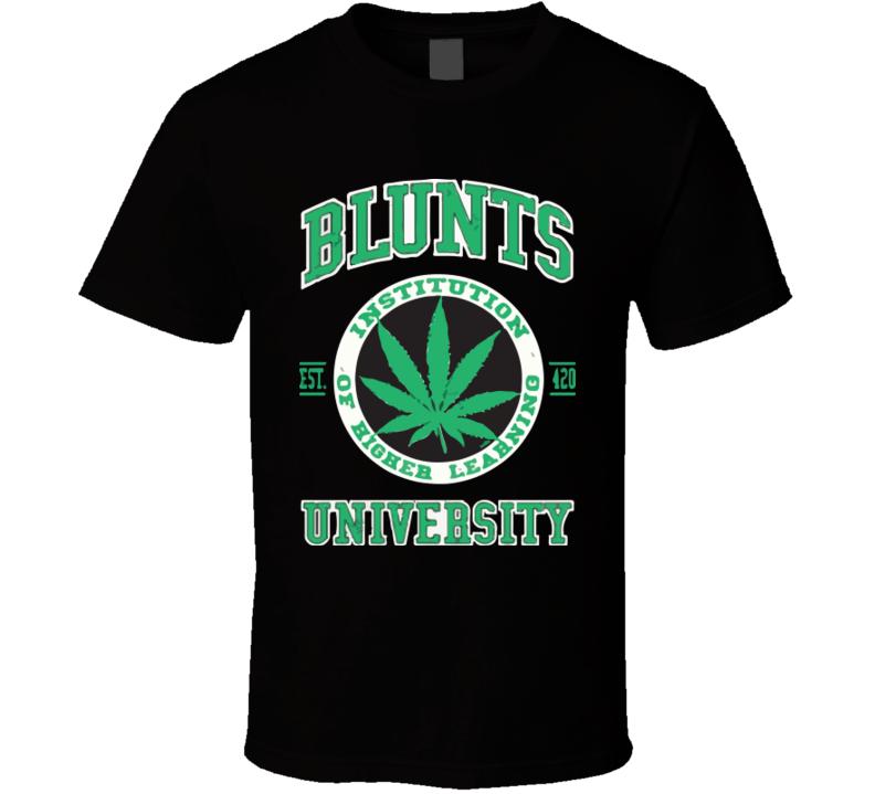 Blunts University T Shirt