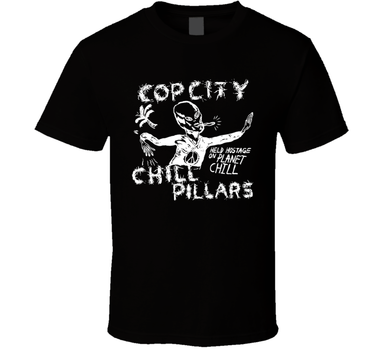 Cop City Chill Pillars garage rock music LP T Shirt