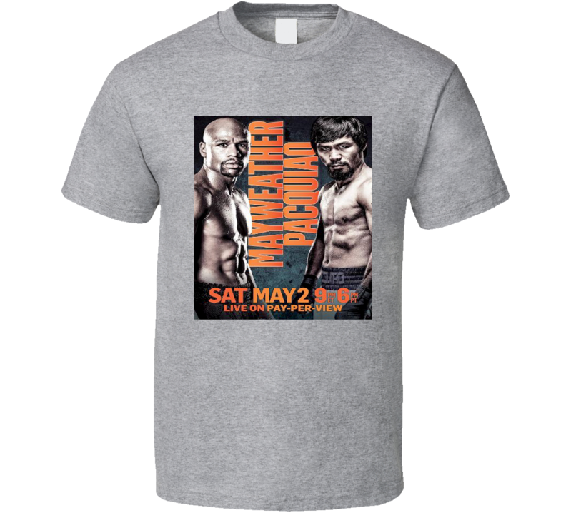 Floyd Mayweather Manny Pacquiao Legends Boxing T Shirt