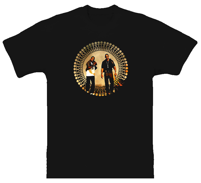 Bad Boys Action Movie T Shirt