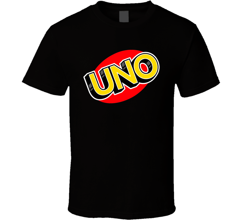 Uno Card Game Halloween Costume T Shirt