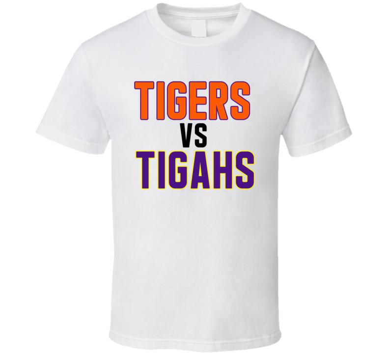 Tigers Vs Tigahs Clemson Lsu National Championship T Shirt