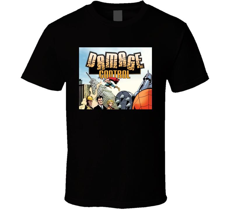Damage Control Comic Book Fan T Shirt