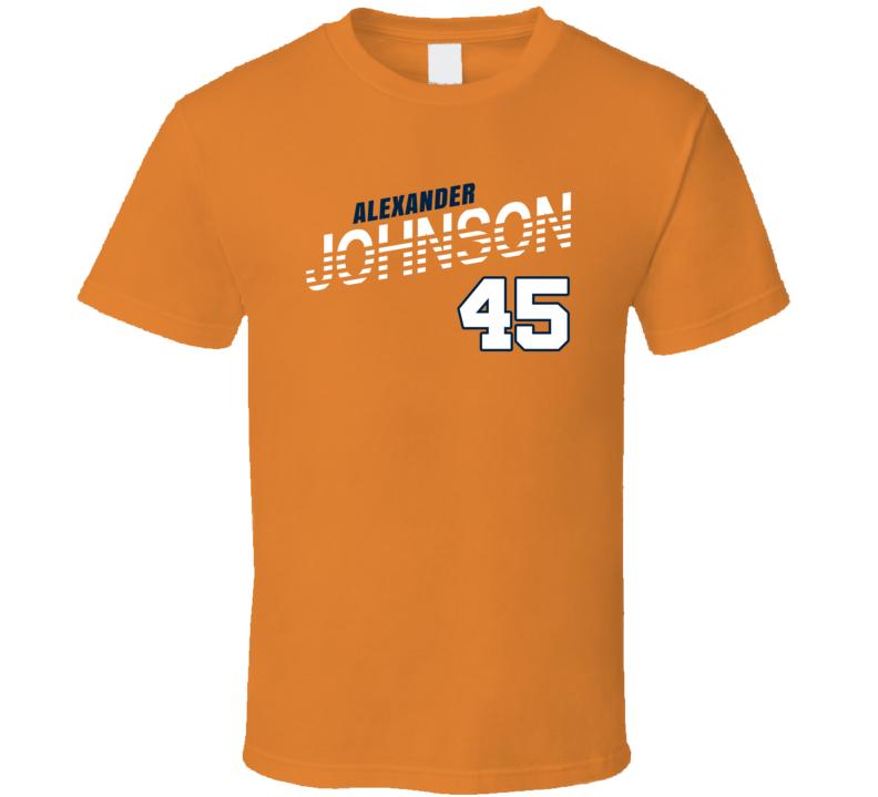 Alexander Johnson 45 Favorite Player Denver Football Fan T Shirt
