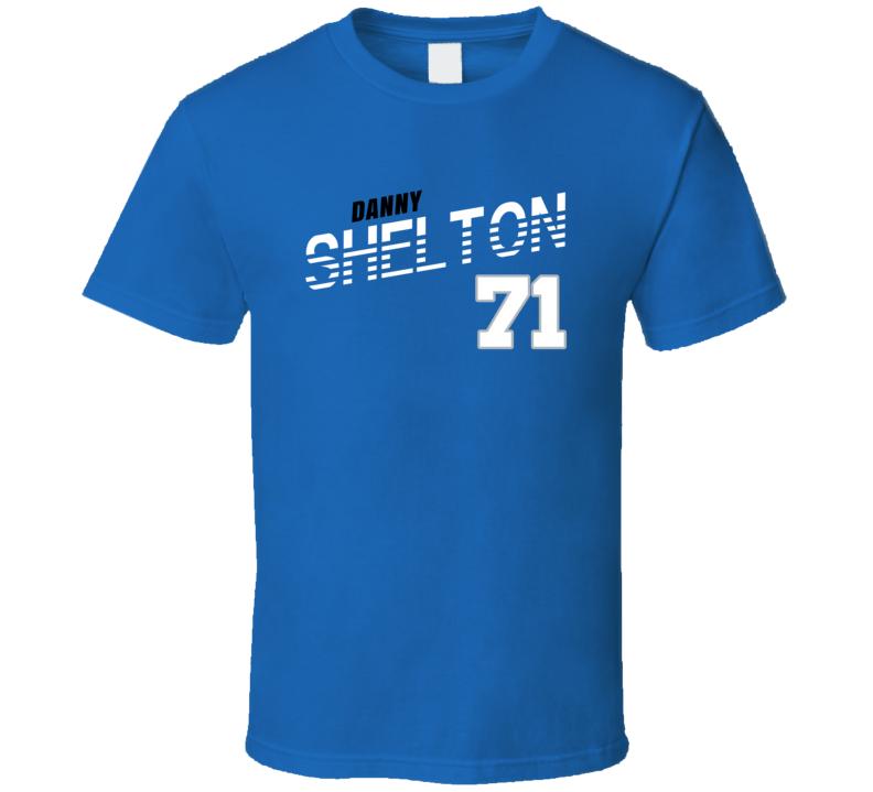 Danny Shelton 71 Favorite Player Detroit Football Fan T Shirt
