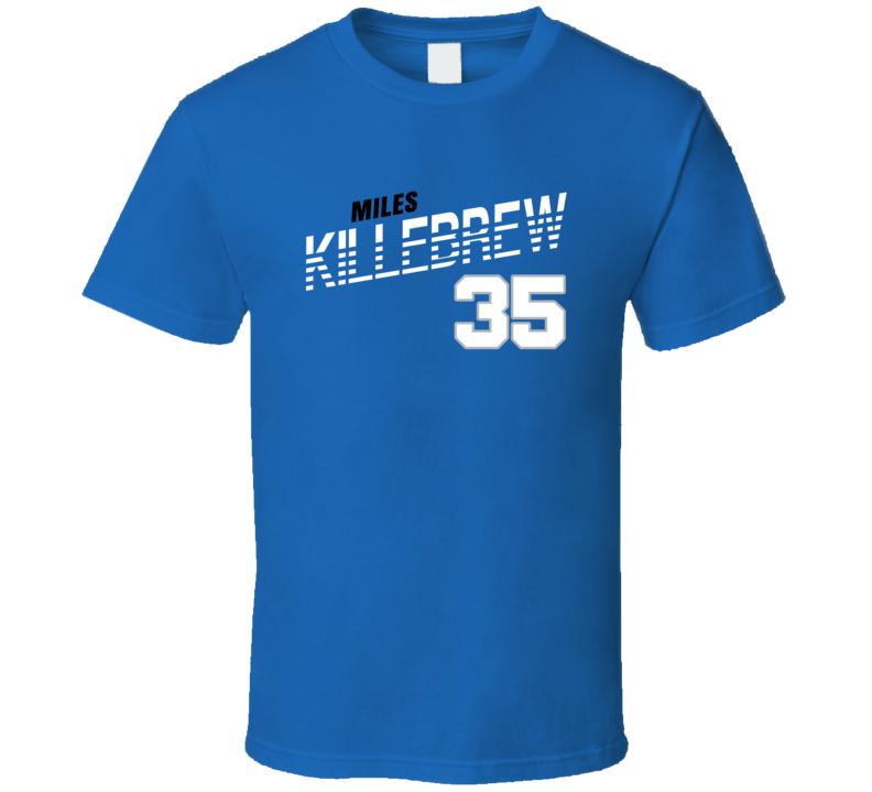 Miles Killebrew 35 Favorite Player Detroit Football Fan T Shirt