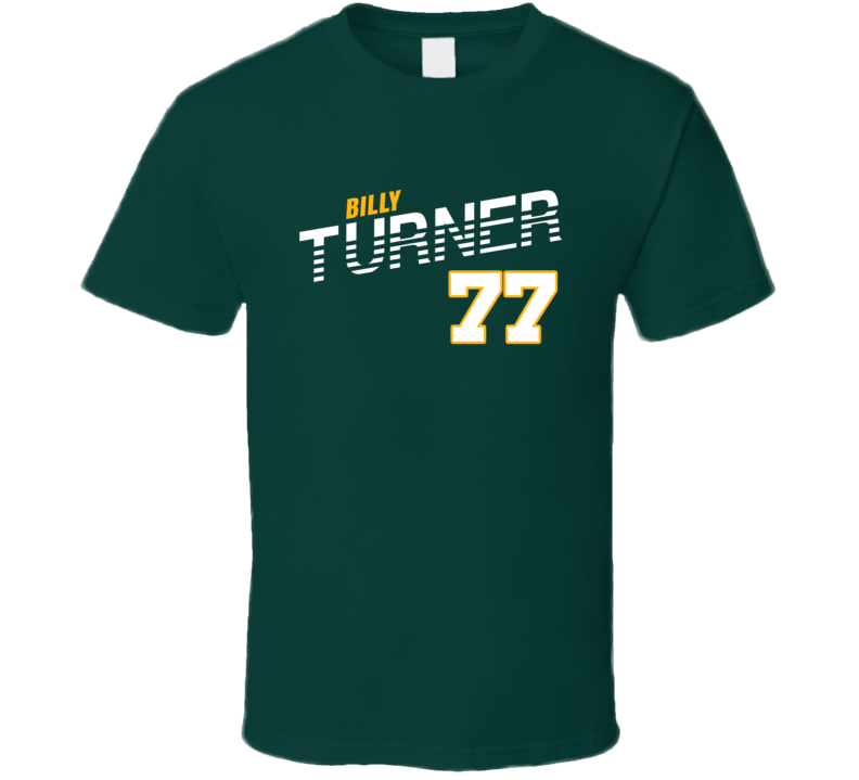 Billy Turner 77 Favorite Player Green Bay Football Fan T Shirt