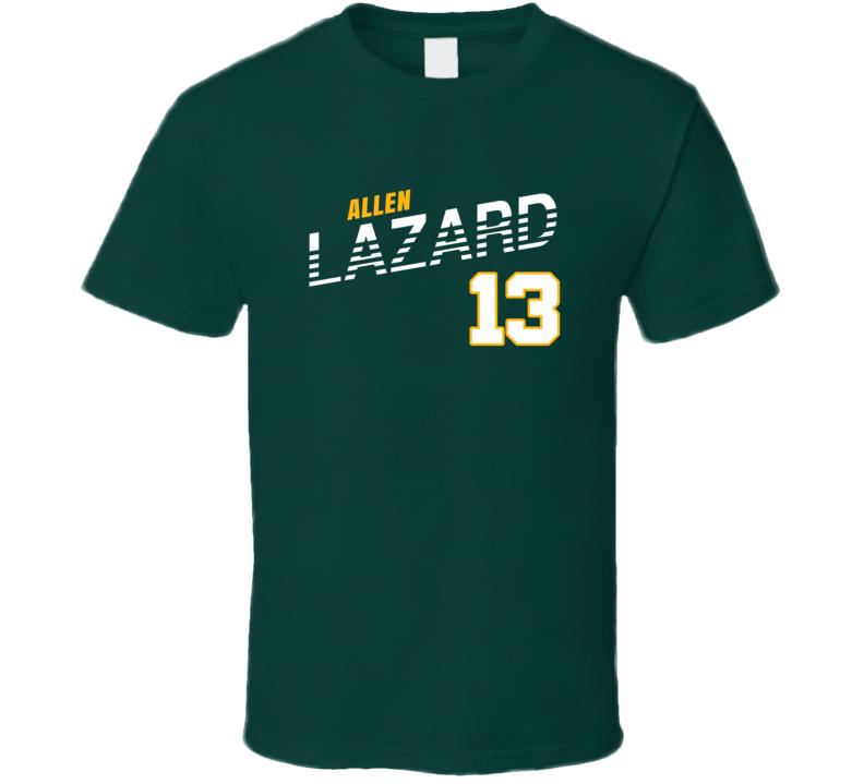 Allen Lazard 13 Favorite Player Green Bay Football Fan T Shirt