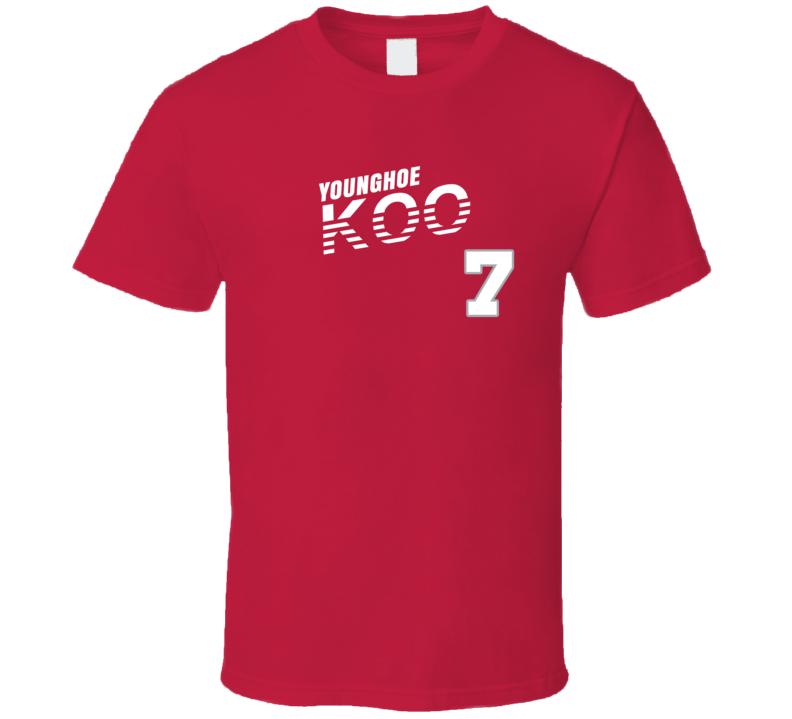 Younghoe Koo 7 Favorite Player Atlanta Football Fan Cool T Shirt