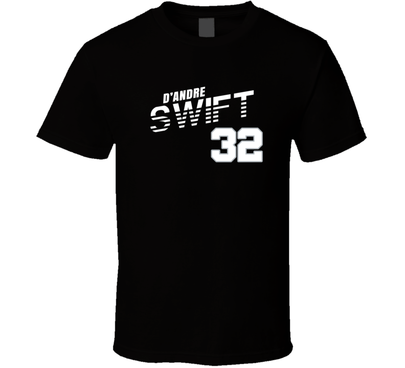 D'andre Swift 32 Favorite Player Detroit Football Fan Cool T Shirt