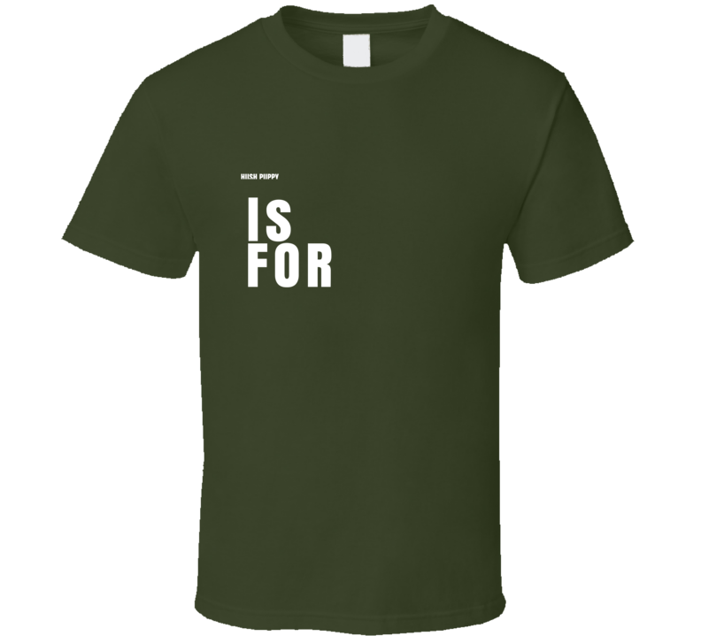 Alphabet Cute Customizable T Shirt
