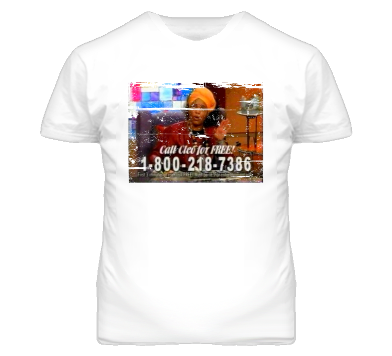 Miss Cleo and her Psychic Readers Network 90s Throwback T Shirt