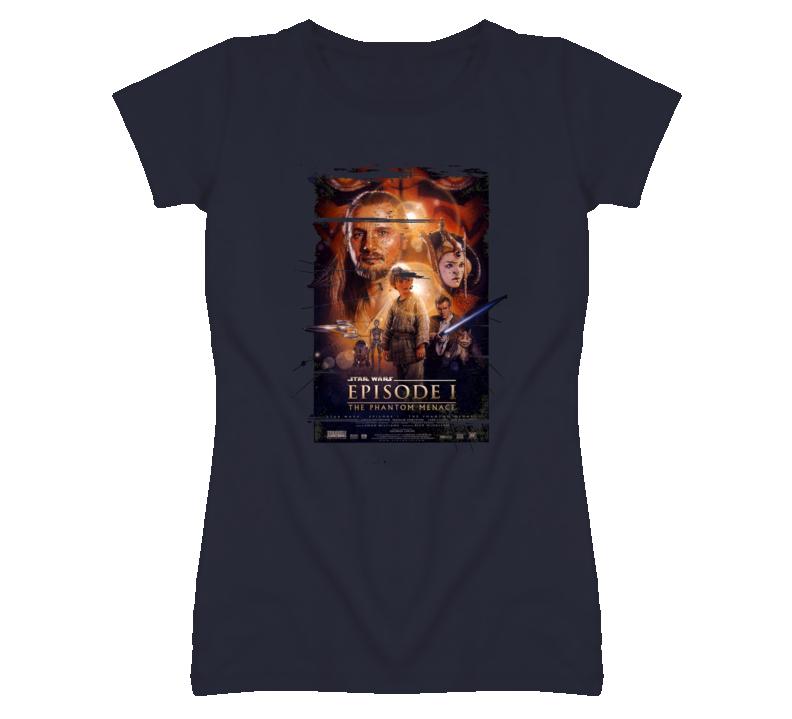 Star Wars Episode I The Phantom Menace 90s Throwback T Shirt