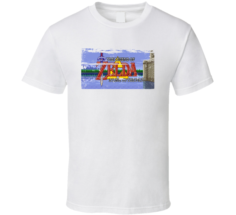 The Legend of Zelda A Link to the Past 90s Throwback T Shirt