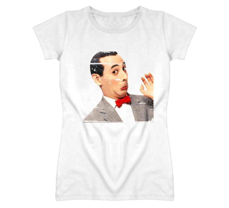 Pee-Wee Herman caught masturbating 90s Throwback T Shirt