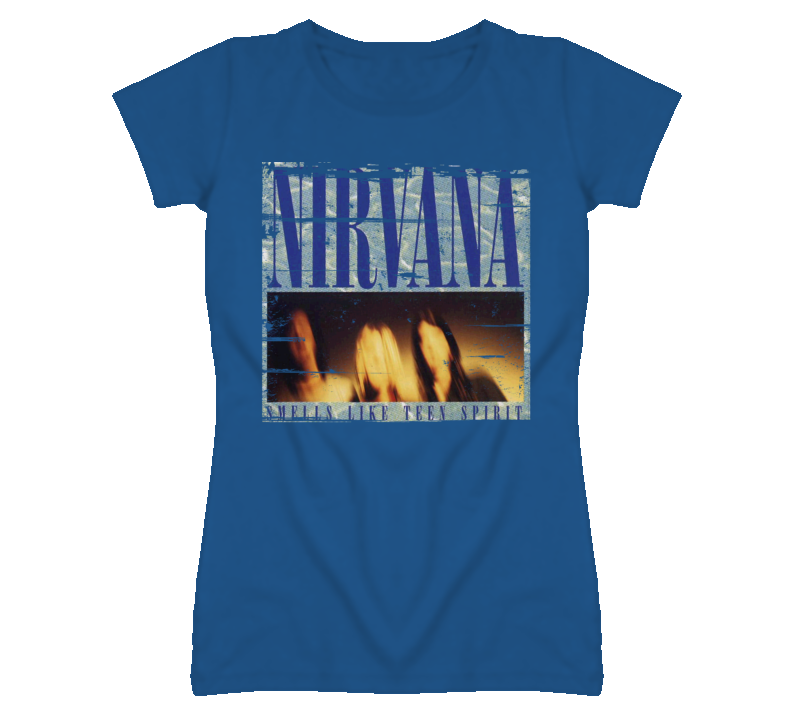 Smells Like Teen Spirit - Nirvana 90s Throwback T Shirt